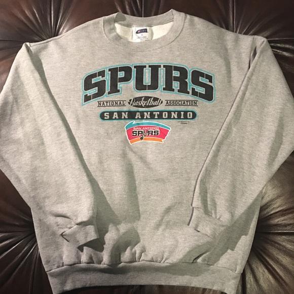 new arrival efb4a f05f9 Vintage San Antonio Spurs Sweatshirt (Made in USA)